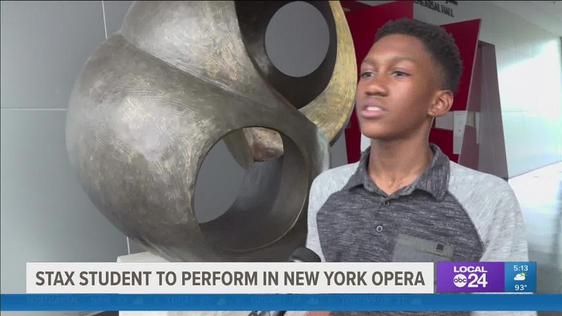 Memphis' own 12-year-old Caleb Thompson to sing at NYC's Metropolitan Opera