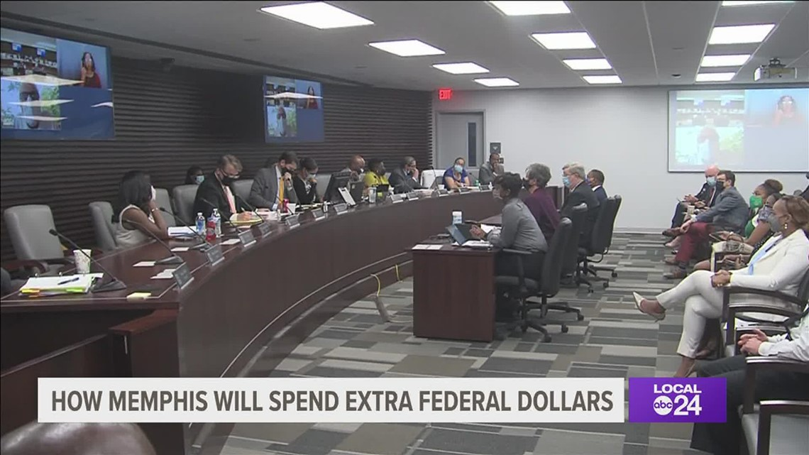 Memphis leaders outline where to spend nearly $100 million in America Rescue Plan Act funding