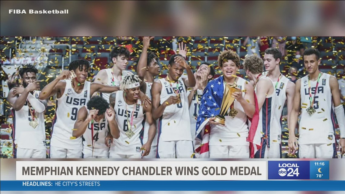 Memphis native Kennedy Chandler now a world champion after winning gold in the FIBA U19 World Cup