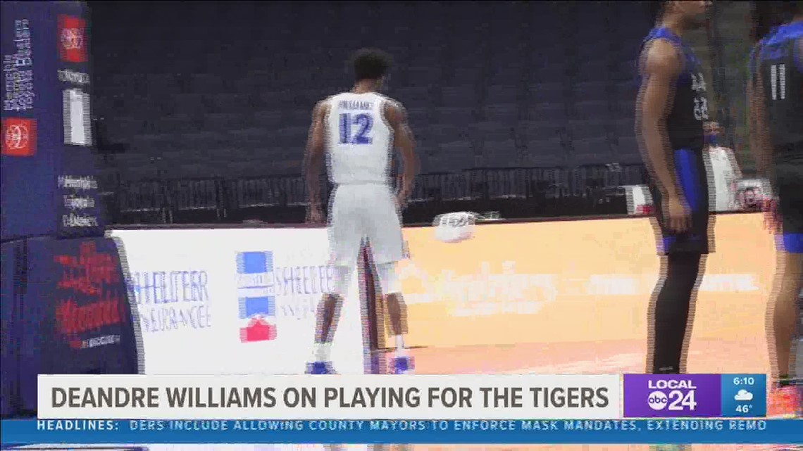 DeAndre Williams on playing for the Tigers