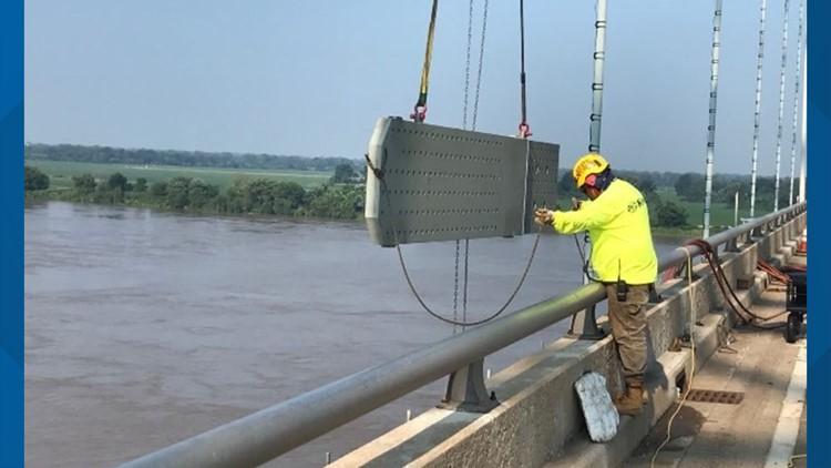 TDOT: Reopening of I-40 Hernando de Soto bridge likely delayed until August