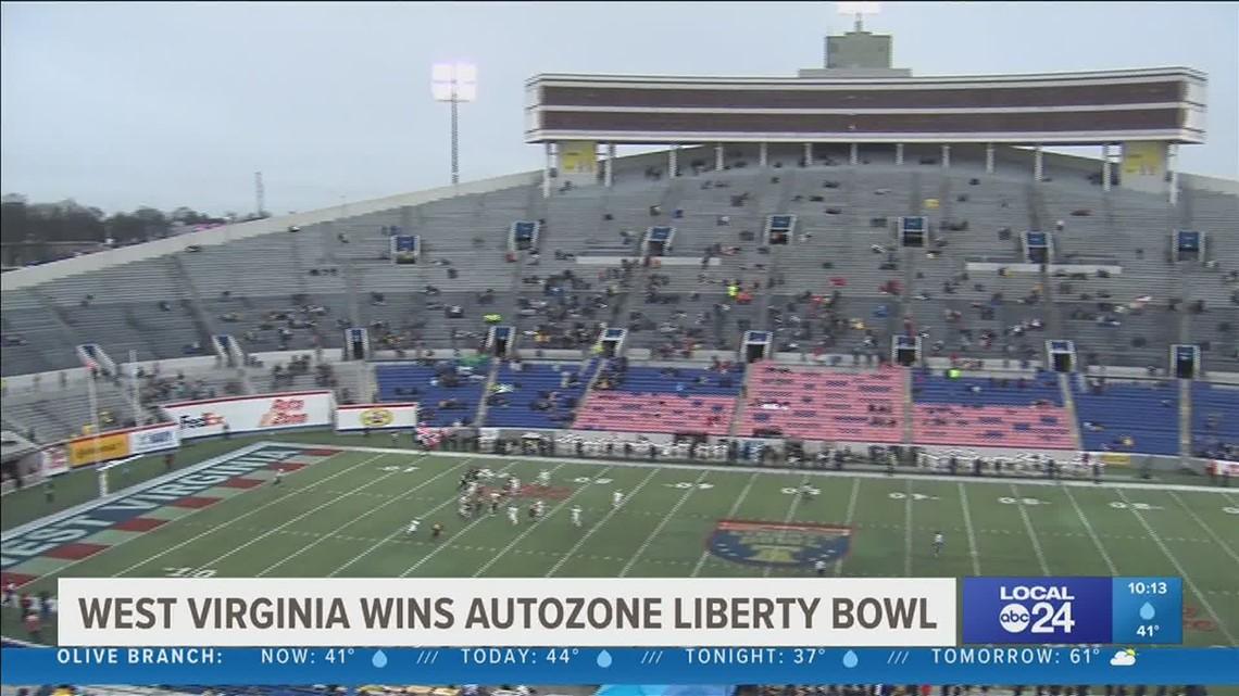 West Virginia wins Auto Zone Liberty Bowl