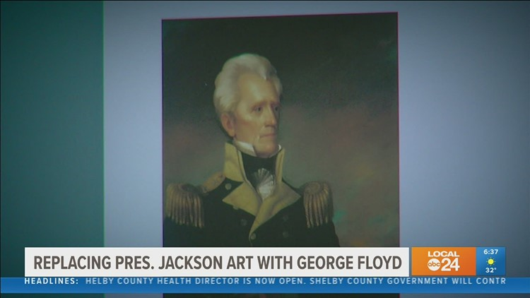 Brooks Museum of Art pulls portrait of President Andrew Jackson, opens conversation on its future
