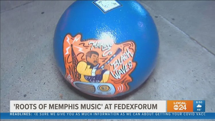 Artwork captures sounds of Black Memphis music history