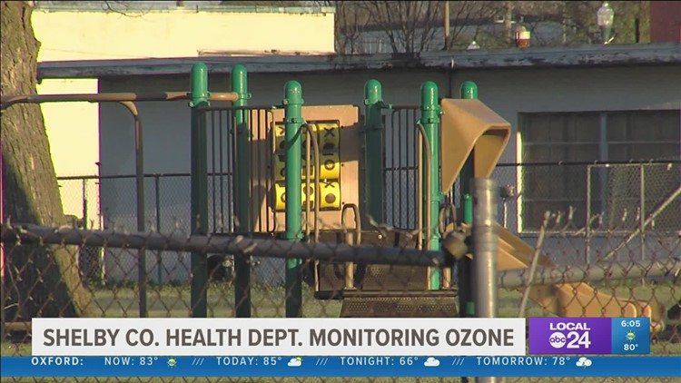 Shelby County Health Department is monitoring for ground level ozone