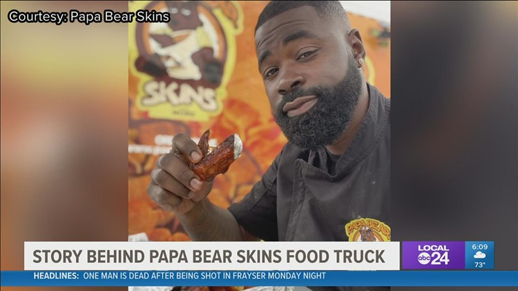 Papa Bear Skins sizzles with family legacy at Soulful Food Truck Festival