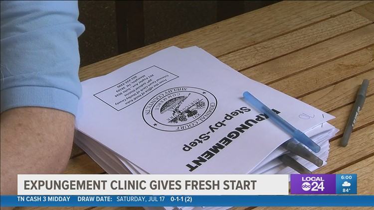 Those with criminal records in Shelby County have another chance for a clean slate