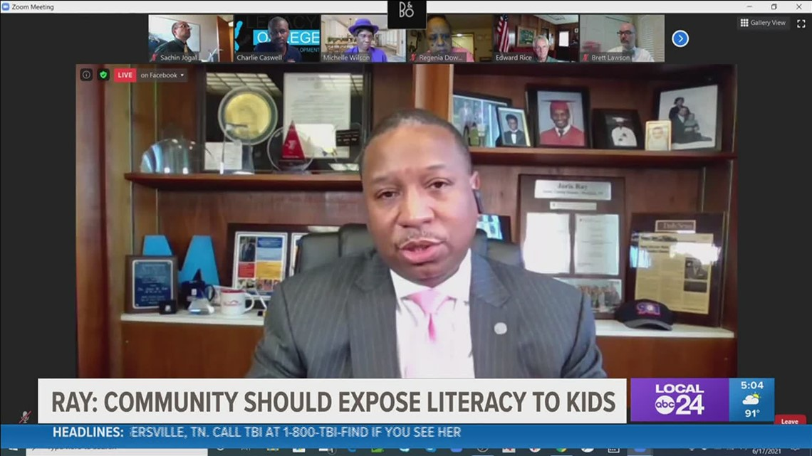 SCS Superintendent Dr. Joris Ray wants the community to step up when it comes to literacy