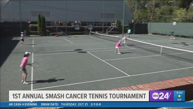 Mid-South doctors and survivors 'Smash Cancer' at a first-ever tennis tournament