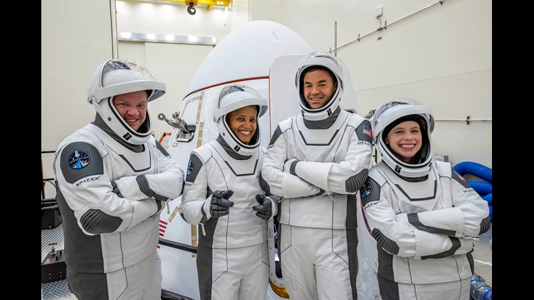 Inspiration4 crews talk to St. Jude patients from space