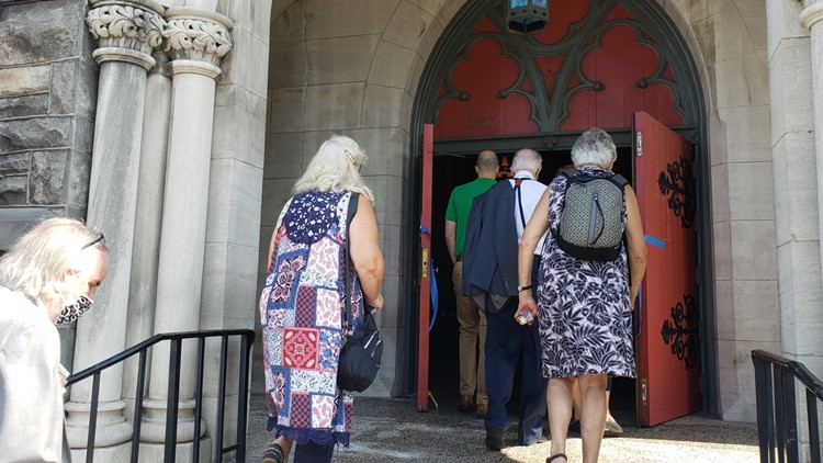 St. Mary's Episcopal Cathedral holds ribbon-cutting ceremony to welcome families back to sanctuary