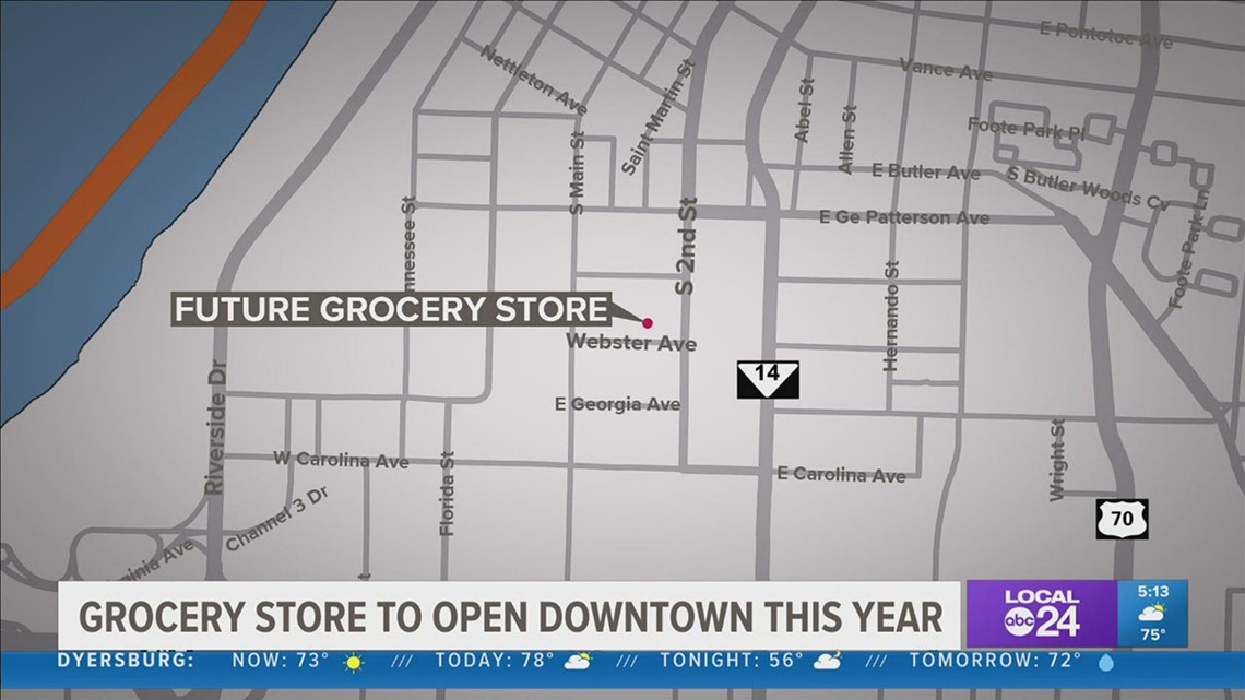 New grocery store for downtown Memphis set to open later this year