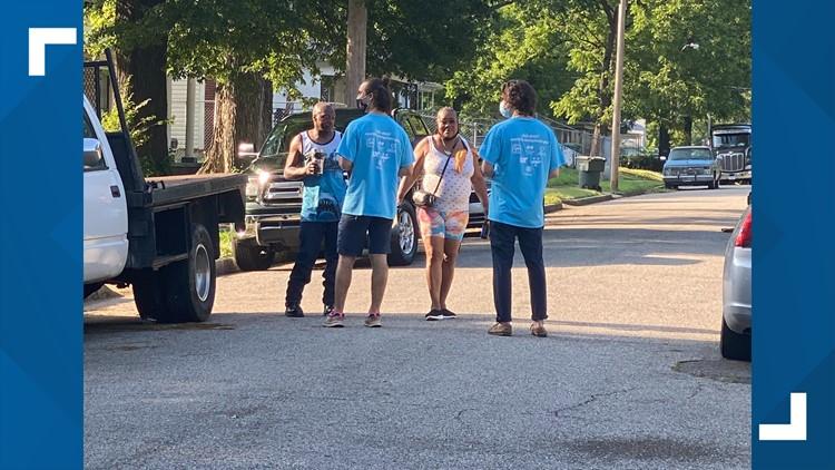 City of Memphis goes door to door in