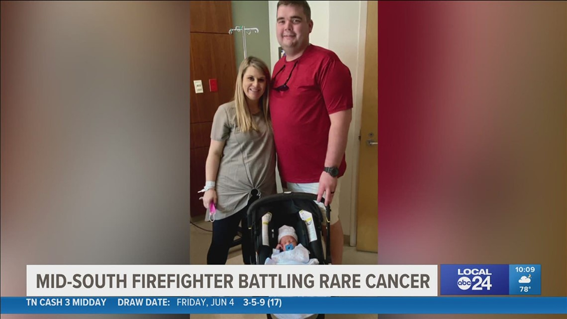 Shelby County Firefighter in the fight for his life with rare cancer diagnosis