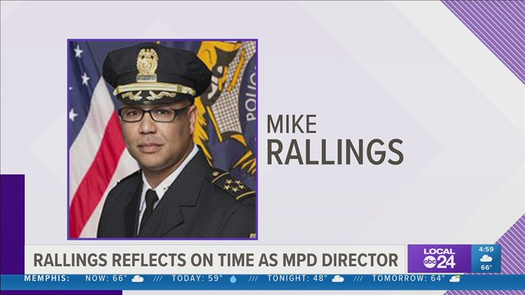 Retiring Memphis Police Director Mike Rallings reflects on time leading department