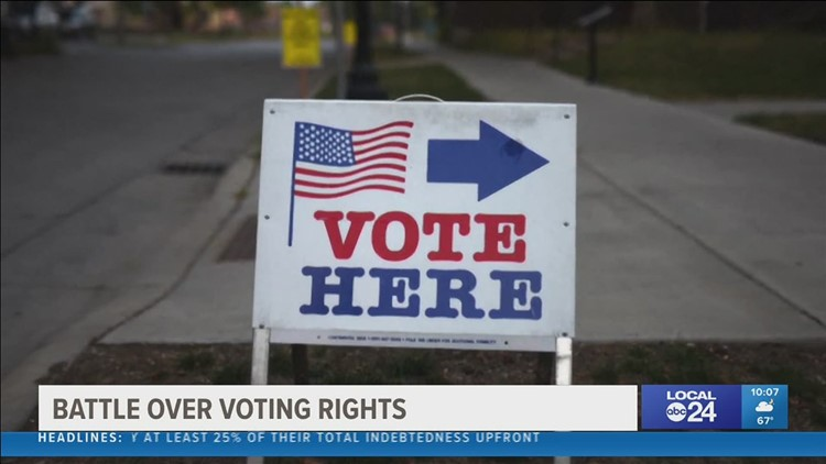 New voter legislation proposals in the Mid-South
