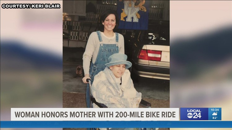 Collierville woman set to honor mother with multi-state bike ride
