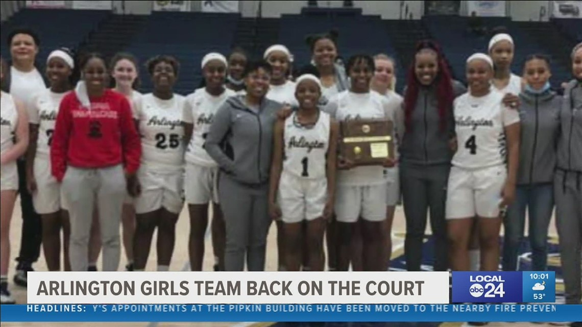 Arlington girls' basketball team's fate in the state tournament now in the hands of the court