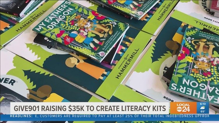 Give901 needs your help to provide literacy and learning tools for low-income families