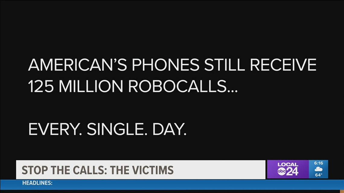 Memphis robocall victims have had enough