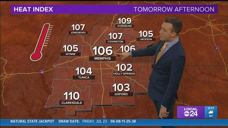 WATCH: Saturday evening weather forecast 7/24/21