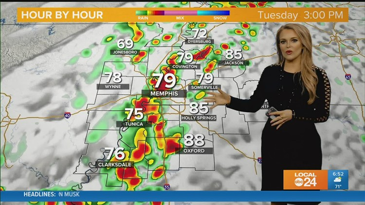 WATCH: Tuesday AM Forecast with Chelsea Chandler 9-21-21
