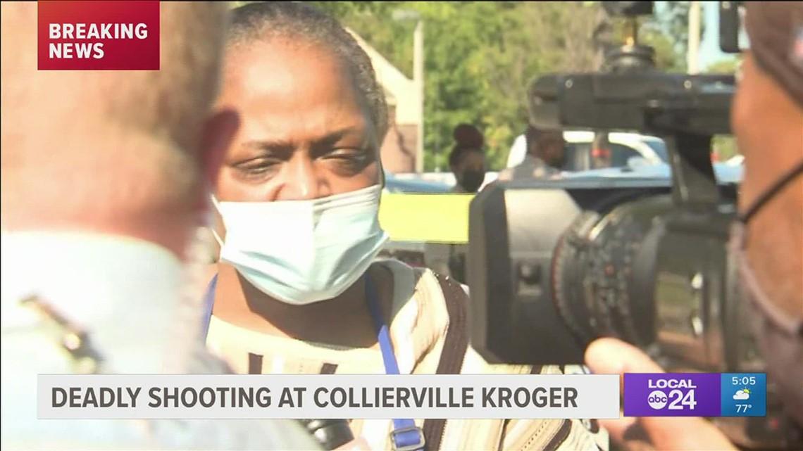 Kroger mass shooting eyewitness account 5 pm