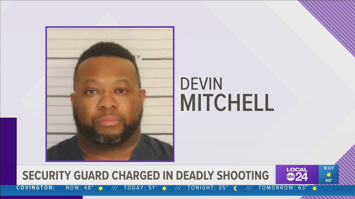 Security guard charged with killing man outside midtown Memphis Walgreens