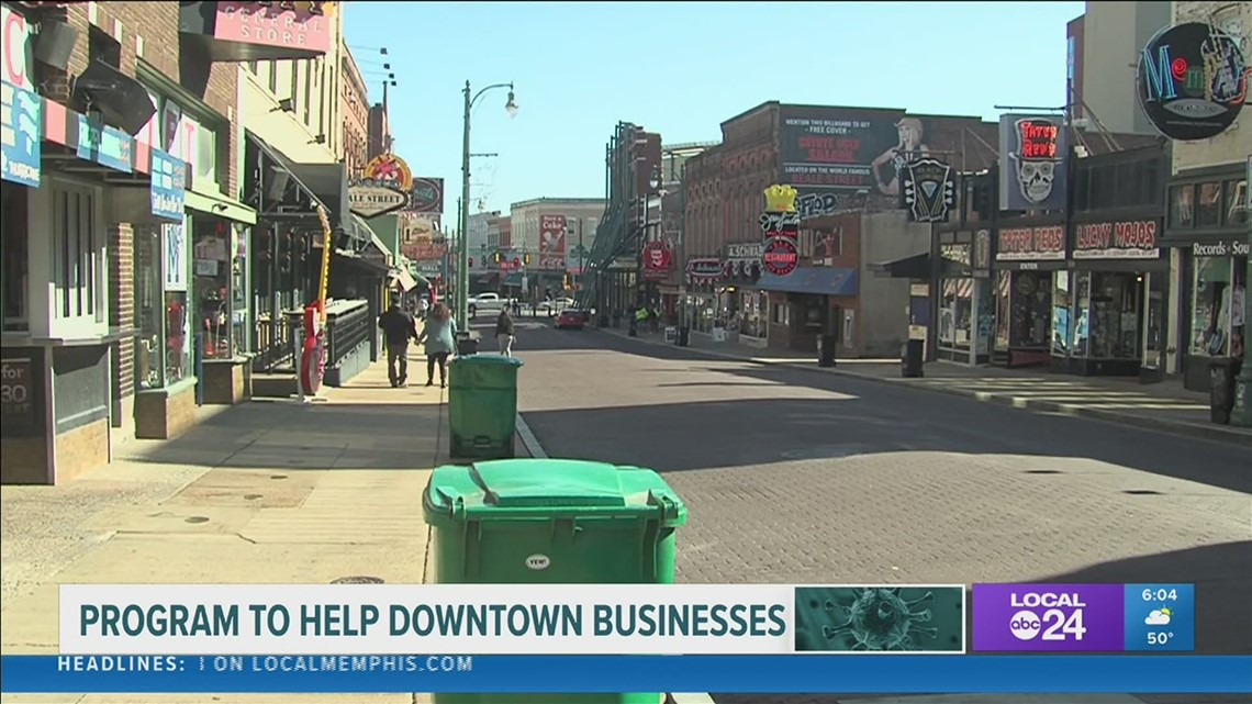 New grant available for struggling Downtown Memphis businesses