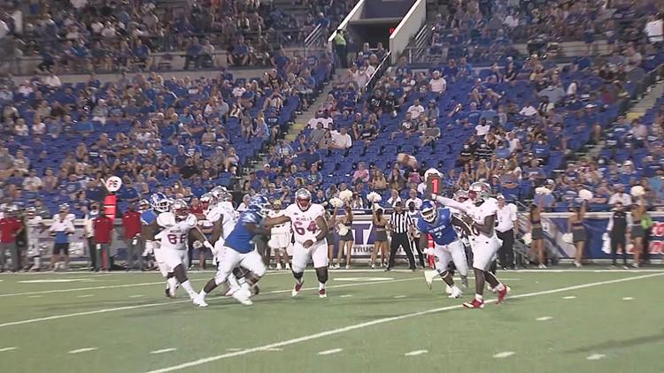 Memphis cornerback Greg Rubin hopes opposing teams keep throwing his way