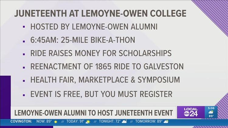 LeMoyne-Owen College to host inaugural 'Juneteenth 2021: A Celebration and a Conversation'