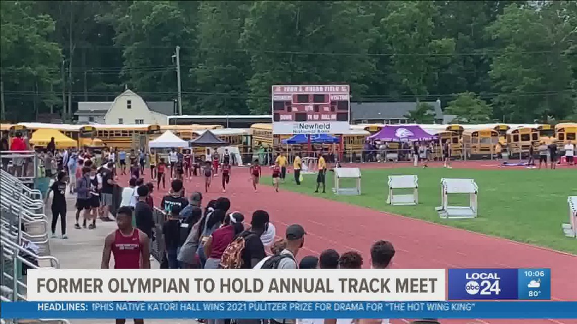 Olympian Rochelle Stevens back in stride giving young track athletes a head start with combine event