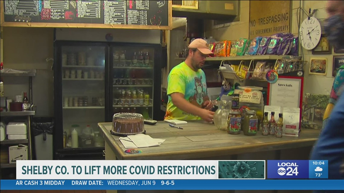 Shelby County businesses relieved as almost all COVID-19 restrictions are being lifted