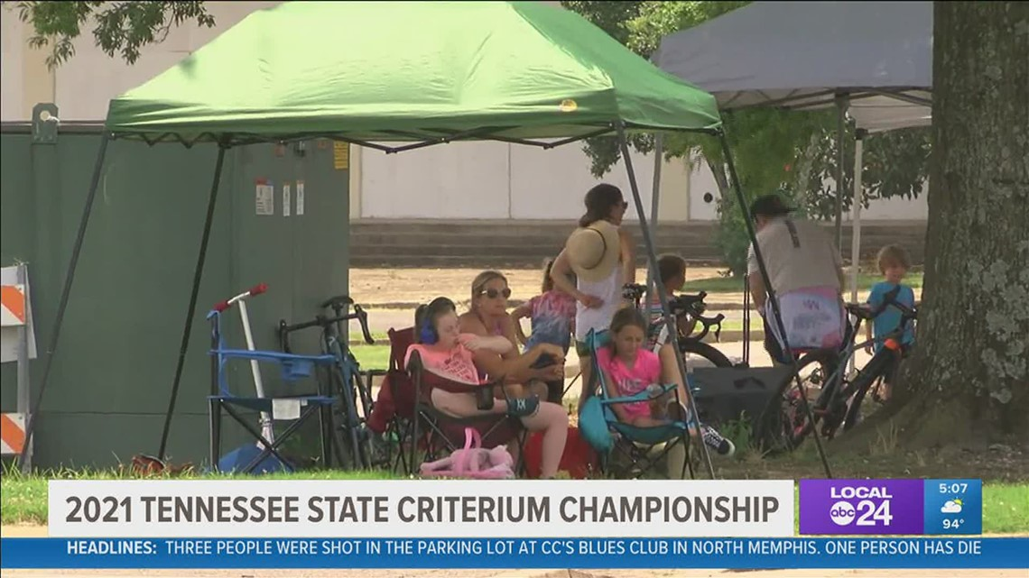 2021 Tennessee State Criterium Championship rolls in Memphis