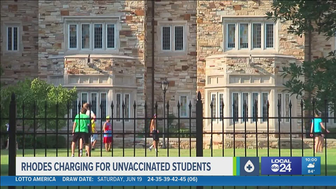 'It's for everyone's safety' | Rhodes College students say school's vaccine requirement is selfless act to keep people safe