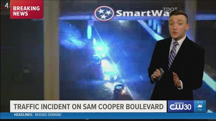 Portion of Sam Cooper shut down after deadly crash