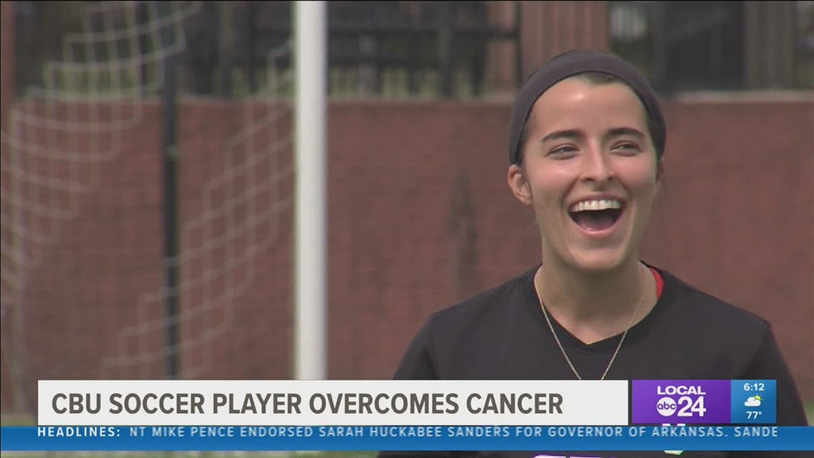 CBU soccer star Anna Della Rosa makes a triumphant return to the field after beating cancer