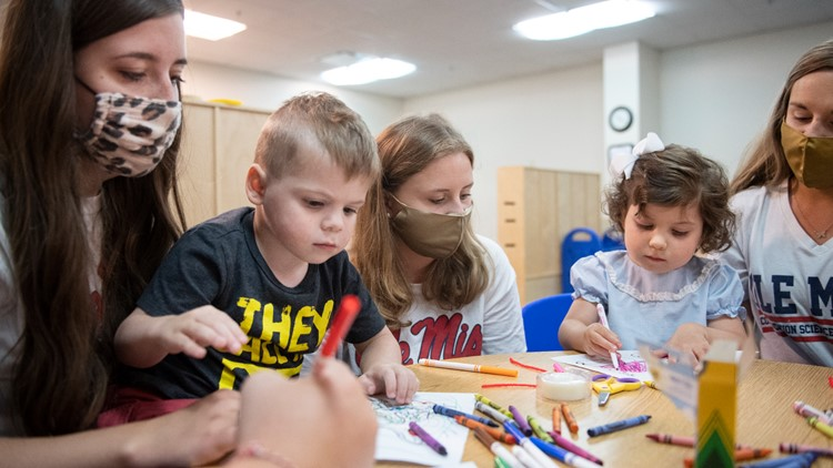 Ole Miss helps children with language disorders prepare for kindergarten