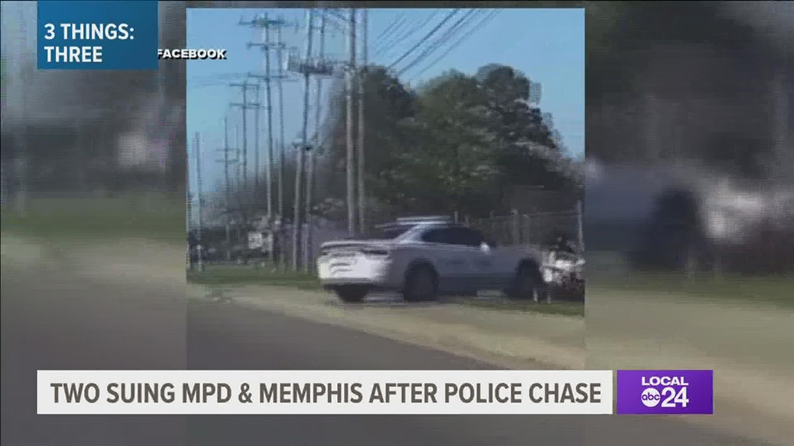 $6 million lawsuit filed against Memphis Police officers & city in ATV chase that was caught on camera