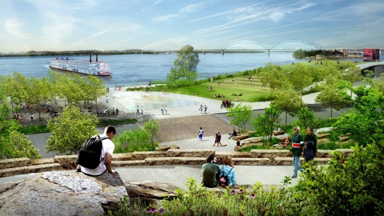 Memphis River Parks commissions world-renowned artist to create new artwork for Tom Lee Park
