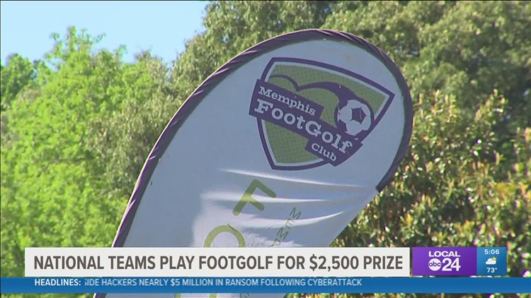 Football + Golf = Footgolf! The American Footgolf League Championship hits Memphis
