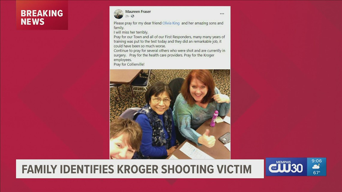 Family identifies Kroger shooting victim