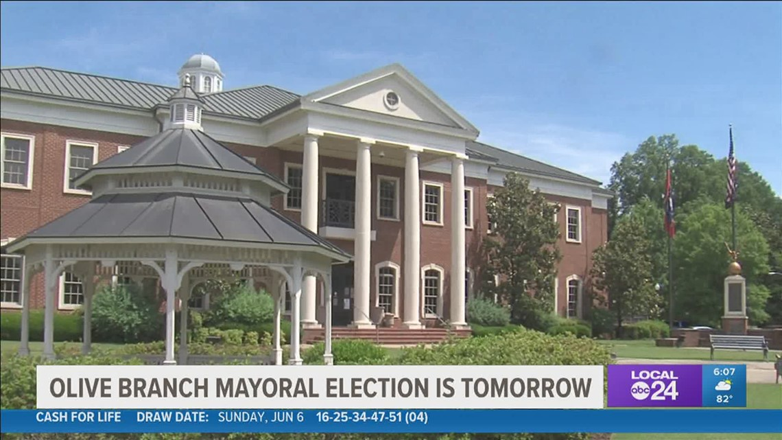 Olive Branch's mayoral race is Tuesday