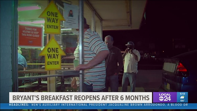 Bryant's Breakfast is back with new ownership, same flavor