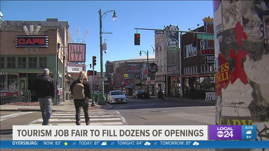 Job fair on Tuesday hopes to fill many open positions as tourism begins to return
