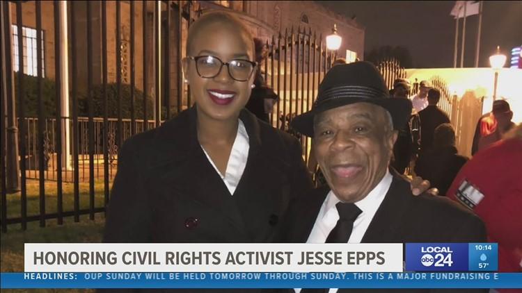 Honoring civil rights activist Jesse Epps