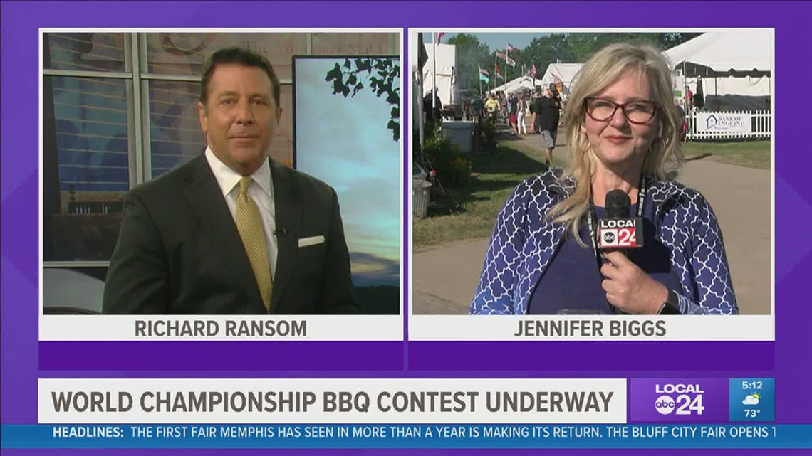 Can you smell what Memphis is cooking? It's time again for the Memphis in May World Championship Barbecue Cooking Contest