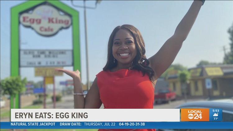 """Eryn Eats: """"Egg King"""" restaurant in Whitehaven"""
