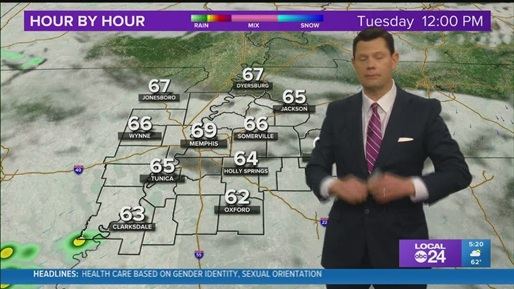 Chief Meteorologist John Bryant says our next weather maker will arrive soon