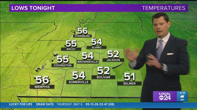 Chief Meteorologist John Bryant updates us on Saturday showers and Mother's Day storms